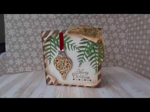 Christmas Cheer Pocket Fold Christmas Card