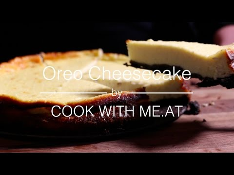 Oreo Cheesecake - Baked on a Kamado Grill - COOK WITH ME.AT