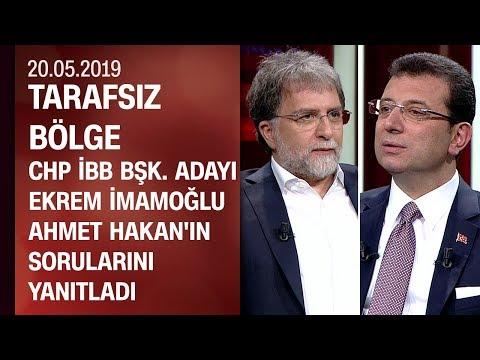 CHP İBB Başkan Adayı Ekrem İmamoğlu, Tarafsız Bölge'de soruları yanıtladı - 20.05.2019 Pazartesi