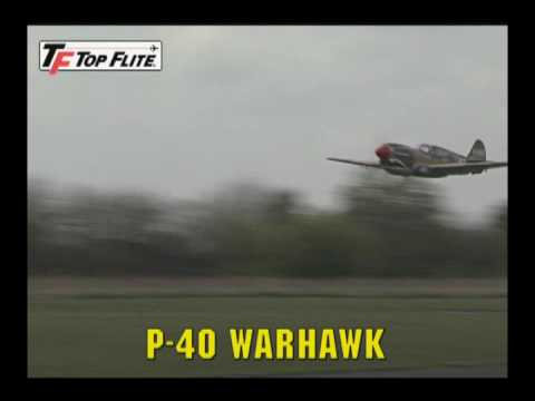 Top Flite P-40 Warhawk Almost Ready-to-Fly Giant Scale Model