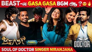 Beast -ல Gasa Gasa BGM ஆ?!😍🔥| Soul Of Doctor | Niranjana Ramanan | Blacksheep Cinemas