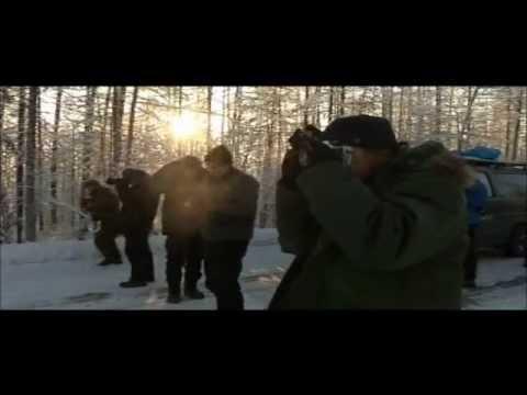 Yakutsk - Oymyakon - Magadan Road. Winter Travel in Siberia Russia