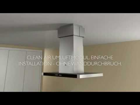 Die Neff Cleanair Umluft Dunstabzug Youtube
