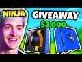 NINJA GIVES AWAY $3,000 GAMING PC   Fortnite Daily Funny Moments Ep.75