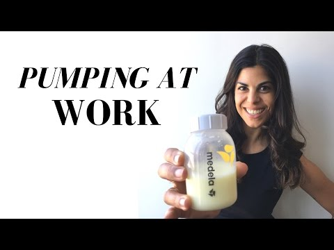 Pumping at Work // my routine
