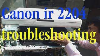 Canon IR 2204,IR 2202, IR 2204N & IR 2004N Photocopier Machine Overview