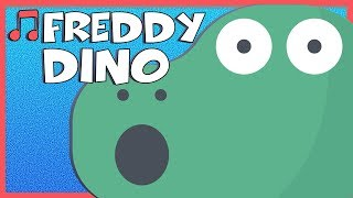 Chinese for Kids 儿歌 - The Freddy Dino Story Song (福啦第恐龙)