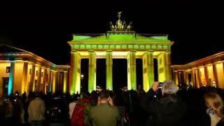 видео Фестиваль света в Берлине