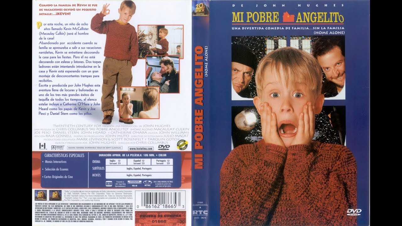 mi pobre angelito solo en casa dvd tube youtube
