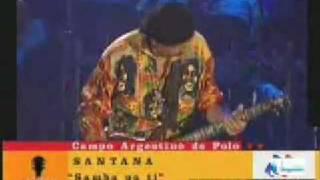 Santana -  Samba Pa Ti  -  Live in Argentina 2006