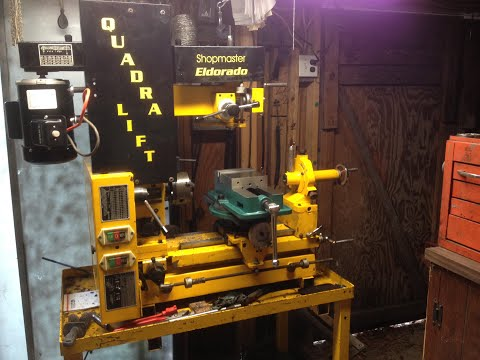 how to wire reversible harbor freight electric motor reversible on Shopmaster lathe
