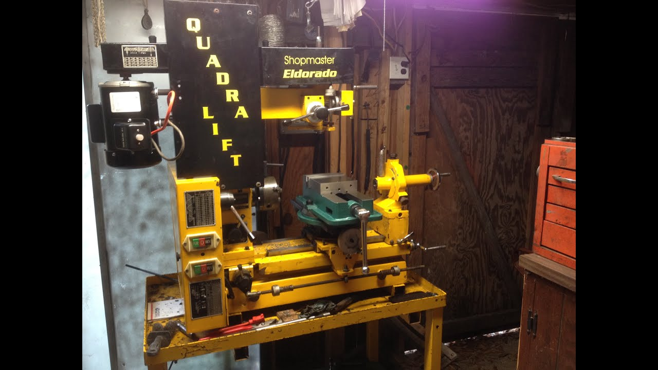 medium resolution of how to wire reversible harbor freight electric motor reversible on shopmaster lathe youtube