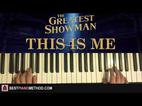 HOW TO PLAY - The Greatest Showman - This Is Me (Piano Tutorial Lesson)