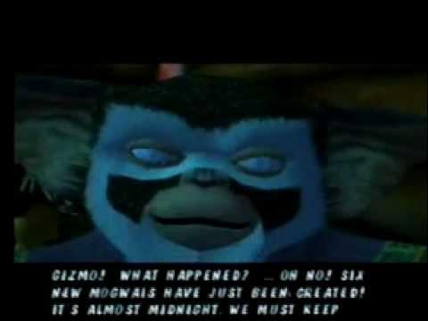 Gremlins Online Exclusive! Unreleased Gremlins PS2/Gamecube intro cutscene