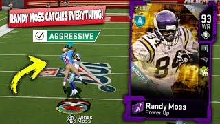 randy moss isnt fair he cant be covered madden 20 ultimate team