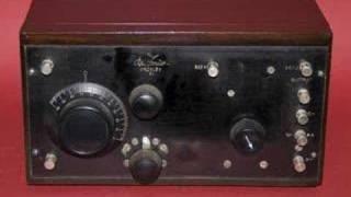 DeForest Crosley 51 radio regeneration circuit part 1