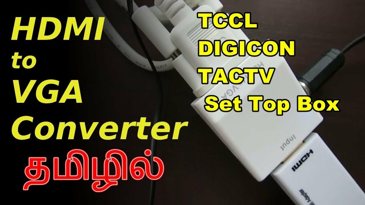 how to connect set top box to monitor