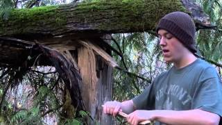 How To: Find Dry Wood In Wet Weather | Teds Outdoors
