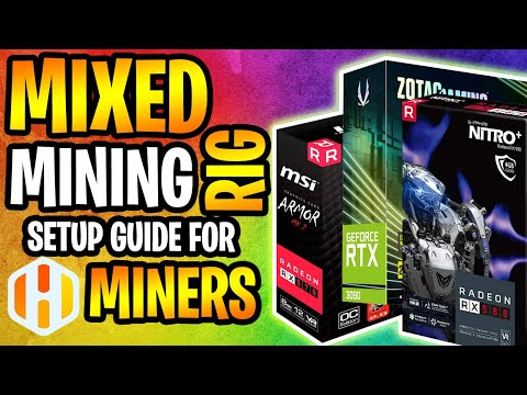 How To Mine With AMD And NVIDIA GPU's On The Same System