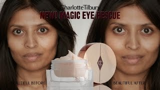 How to Apply Magic Eye Rescue Cream : Skincare Routine feat. Rena | Charlotte Tilbury