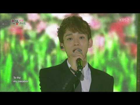 EXO BaekHyun, Chen, D O)   Almost Paradise (OST) [KBS2 Korea China Friendship Concert]