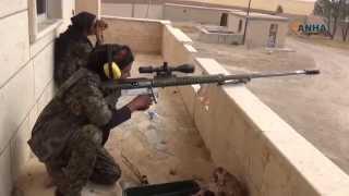 Kahraman Kürt Kızları IŞİD çetelerinin Kabusu
