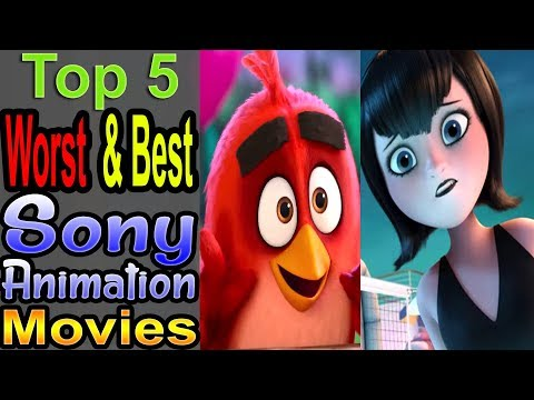 5 Worst/Best Modern Sony Animated Movies