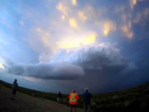 Dissipating LP Supercell
