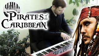 Пираты Карибского моря на пианино