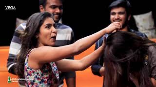 Kirrak Party Movie Team Funny Egg Game | Nikhil Siddharth, Samyuktha, Simran Pareenja