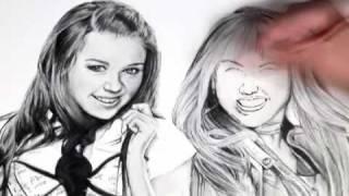 Miley Cyrus / Hannah Montana Drawing