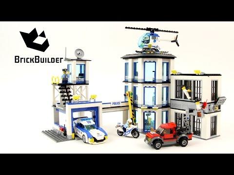 Lego City 60141 Police Station - Lego Speed Build - YouTube