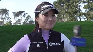 So Yeon Ryu talks about grinding through day two at the LPGA MEDIHEAL Championship