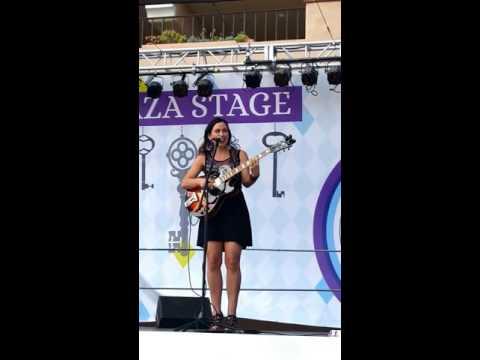Corina Rose Performance Del Mar Fairgrounds 2016, Waiting in Vain cover, Bob Marley