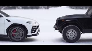 The Lamborghini Urus and the LM002