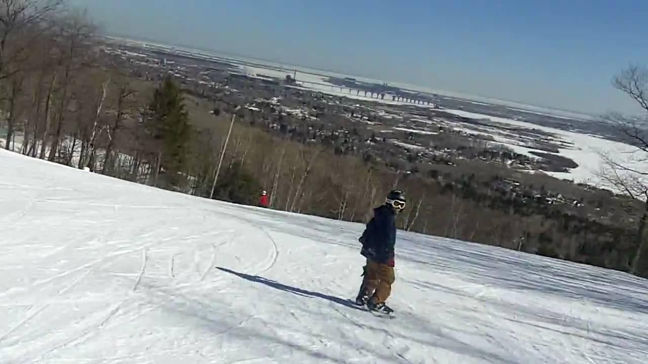 Hmong Snowboarders hittin' Spirit Mountain 03 (near death ...