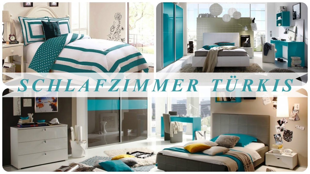 schlafzimmer t rkis youtube. Black Bedroom Furniture Sets. Home Design Ideas