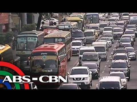 Heavy traffic affecting business in Metro Manila