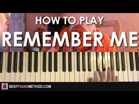 HOW TO PLAY - Coco - Remember Me (Piano Tutorial Lesson)