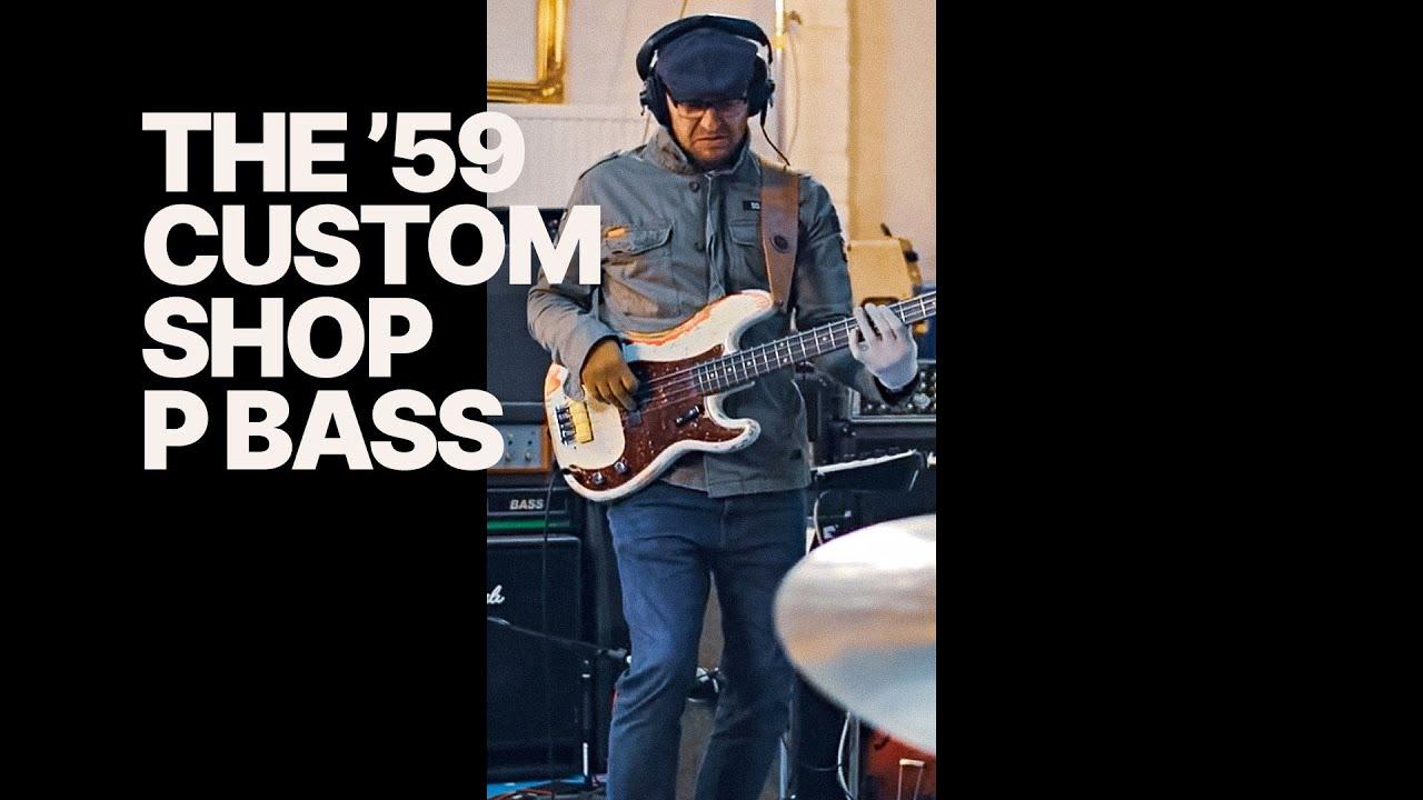 Rockin' the 1959 Custom Shop P Bass (and it sounds BIG)