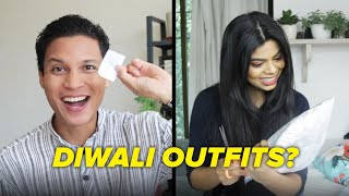 We Styled Each Other For Diwali | BuzzFeed India