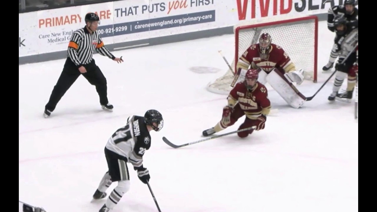 Men' Hockey Hockey East Quarterfinals vs Providence College- Game One  (March 15, 2019)