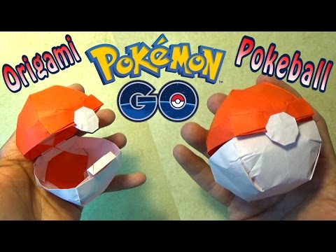 Origami Pokeball that Opens!