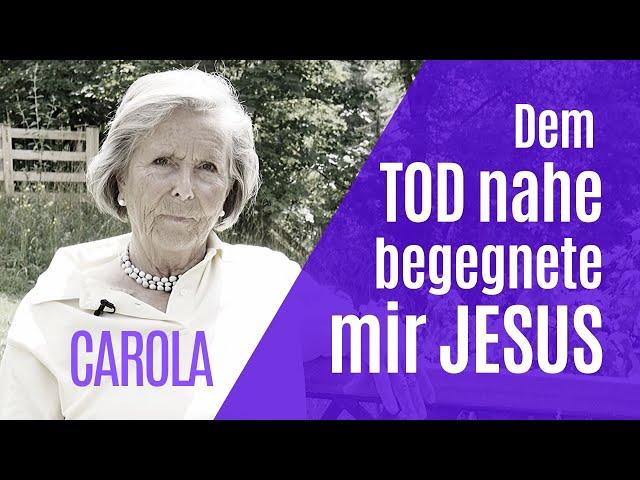 In einem Nahtoderlebnis begegnete mir Jesus! - Carola | Hallelujah Österreich (NDE)
