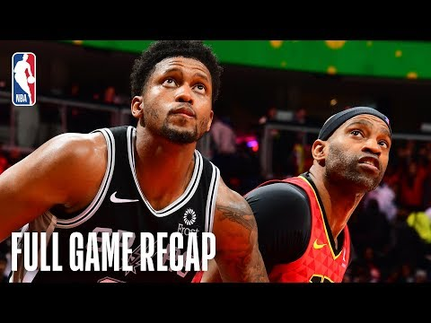 SPURSWATCH - Spurs Beat Hawks For Fourth Straight Win