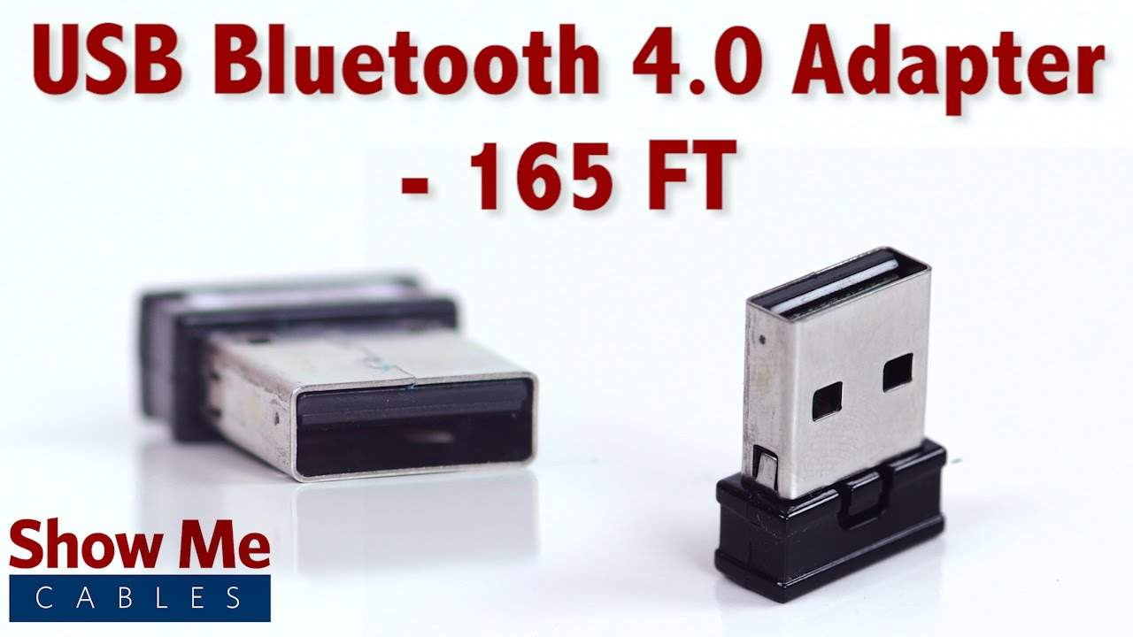 5a14f24ed5c Easy To Use USB Bluetooth 4.0 Adapter - Quickly Add Bluetooth To Your  Computer Or Laptop #3872