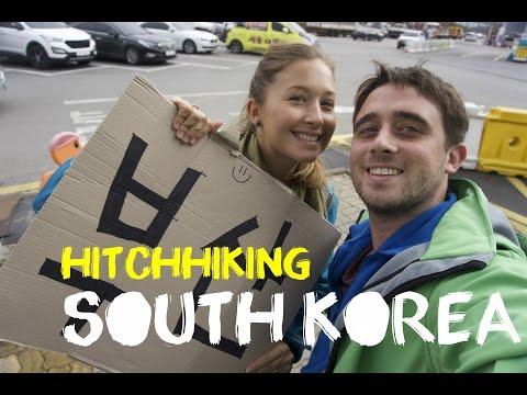 Hitchhiking: Seoul to Busan (400km) Vlog