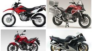 Мотоциклы Honda - большие и маленькие.
