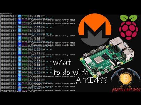 Raspberry Pi4 Running On RandomX Getting XMR!!!!!