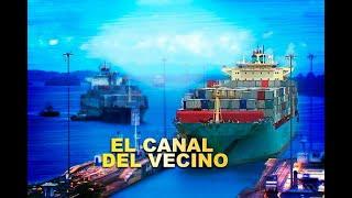 Así se ve la ampliación del canal de Panamá, a bordo de un barco carguero